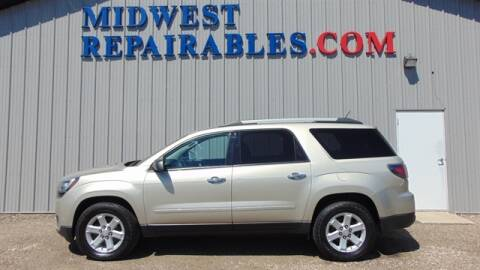 2013 GMC Acadia SLE-2 for sale at RepairableVehicles.com in Harrisburg SD