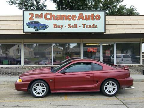Second Chance Auto >> 1996 Ford Mustang For Sale In Sioux Falls Sd