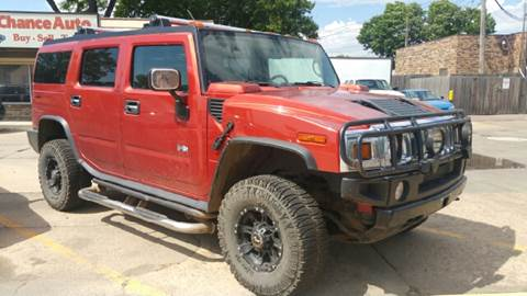 2003 HUMMER H2 for sale at Second Chance Auto in Sioux Falls SD