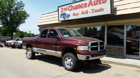 2003 Dodge Ram Pickup 2500 for sale at Second Chance Auto in Sioux Falls SD