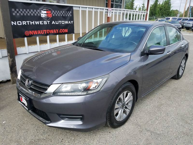2013 Honda Accord For Sale At NORTHWEST AUTOWAY In Puyallup WA