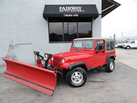 1995 Jeep Wrangler for sale in Melrose Park, IL