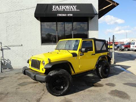 2008 Jeep Wrangler for sale in Melrose Park, IL