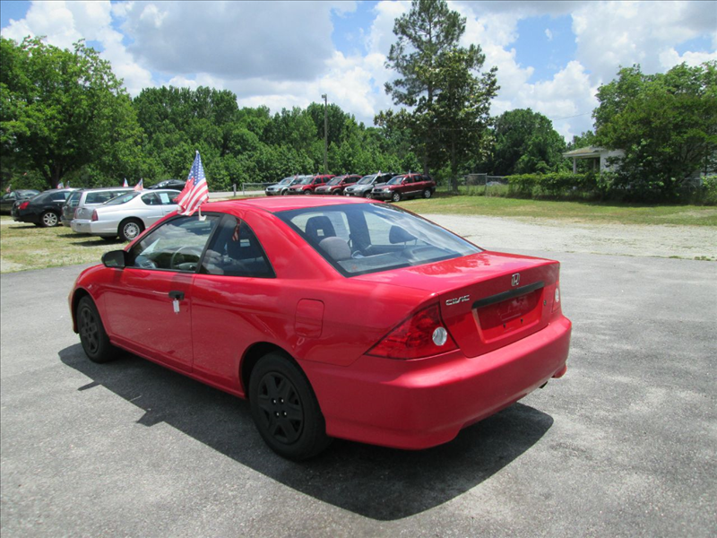 2004 Honda Civic Value Package 2dr Coupe - Angier NC
