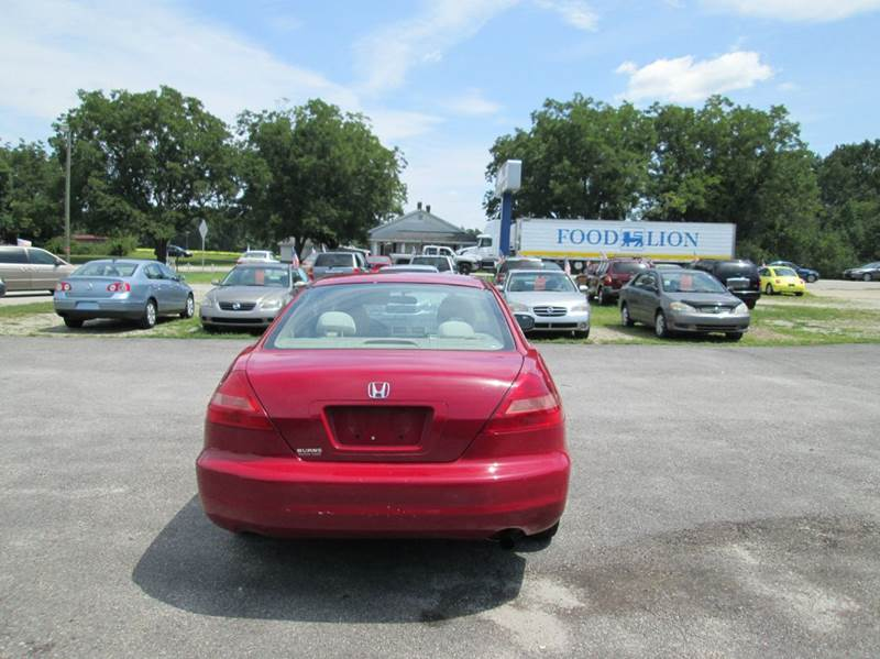2004 Honda Accord EX 2dr Coupe - Angier NC