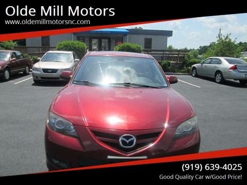 2008 Mazda MAZDA3 for sale at Olde Mill Motors in Angier NC