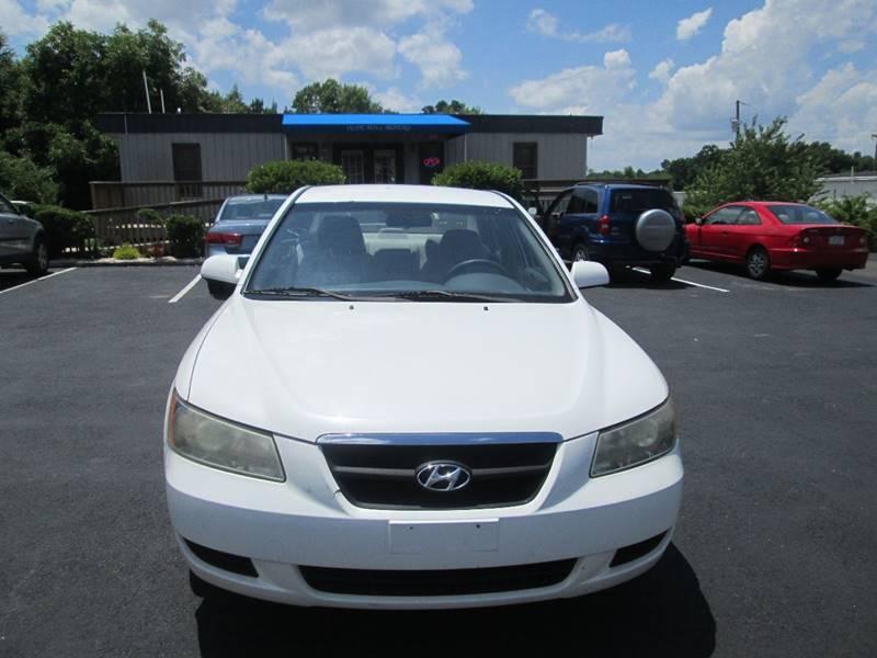 2007 Hyundai Sonata GLS 4dr Sedan   Angier NC