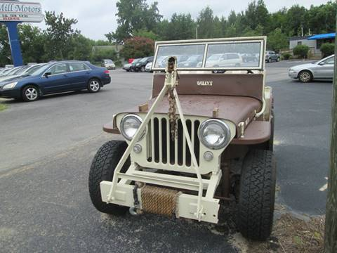 1948 Willys Jeep for sale in Angier, NC
