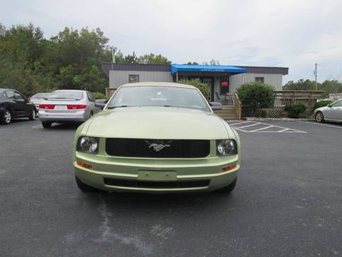 2005 Ford Mustang for sale at Olde Mill Motors in Angier NC