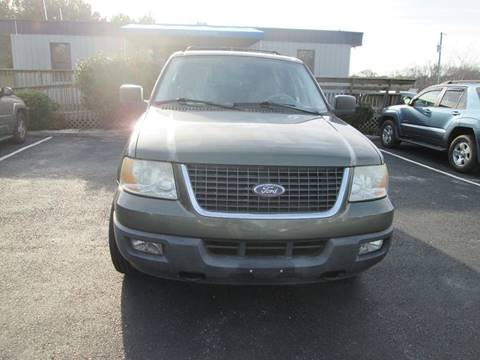 2004 Ford Expedition for sale at Olde Mill Motors in Angier NC