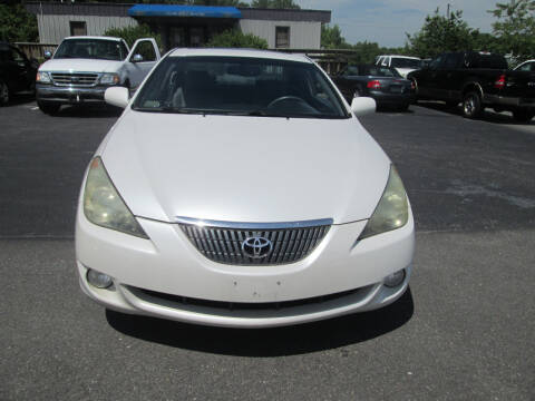 2006 Toyota Camry Solara for sale at Olde Mill Motors in Angier NC