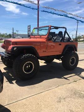 1991 Jeep Wrangler for sale in Waco, TX