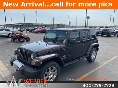 2013 Jeep Wrangler Unlimited for sale in Detroit Lakes, MN