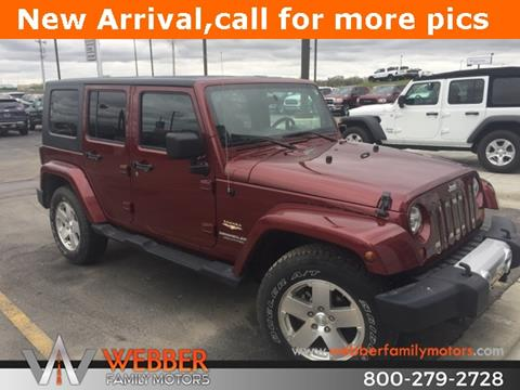 2008 Jeep Wrangler Unlimited for sale in Detroit Lakes, MN
