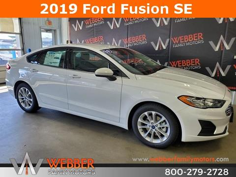 2019 Ford Fusion for sale in Detroit Lakes, MN