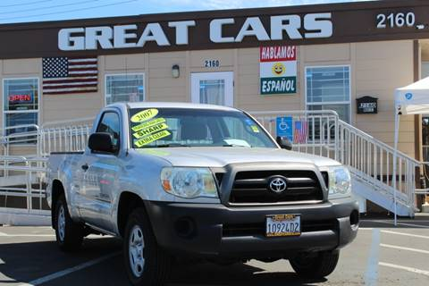2007 Toyota Tacoma For Sale >> 2007 Toyota Tacoma For Sale In Sacramento Ca