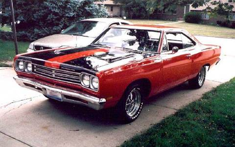1969 Plymouth Roadrunner for sale at Perfection Auto Detailing & Wheels in Bloomington IL