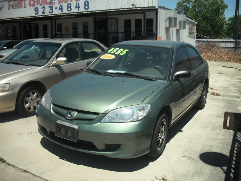 2004 Honda Civic Value Package 4dr Sedan - San Antonio TX
