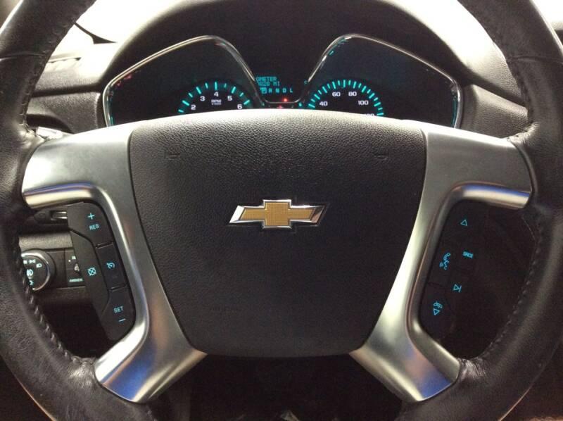 2016 Chevrolet Traverse AWD LT 4dr SUV w/2LT - Newton IA