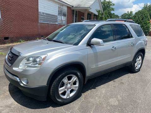 2007 GMC Acadia for sale in Cartersville, GA