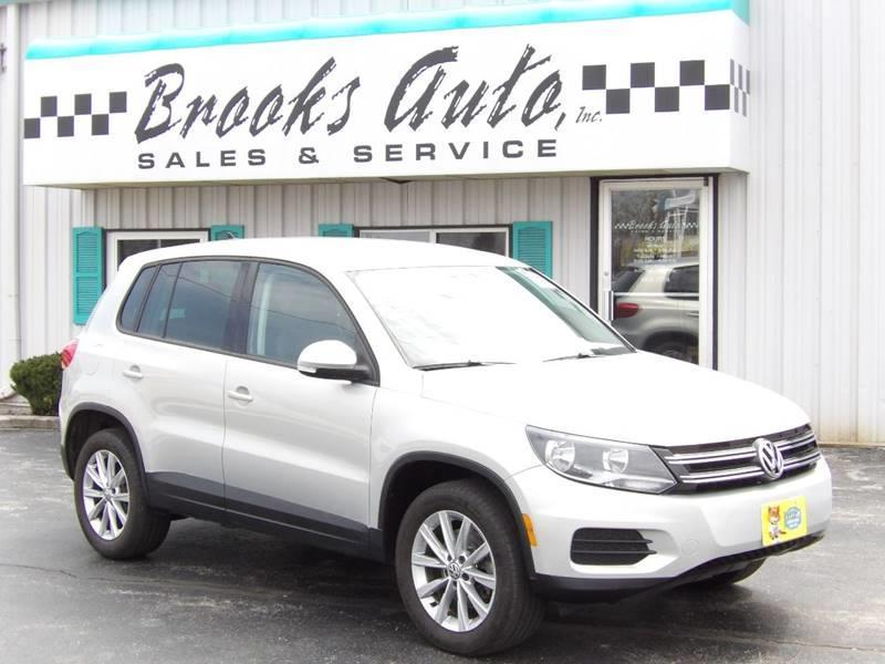 Brooks Auto Sales >> 2014 Volkswagen Tiguan Se 4dr Suv In Manitowoc Wi Brooks