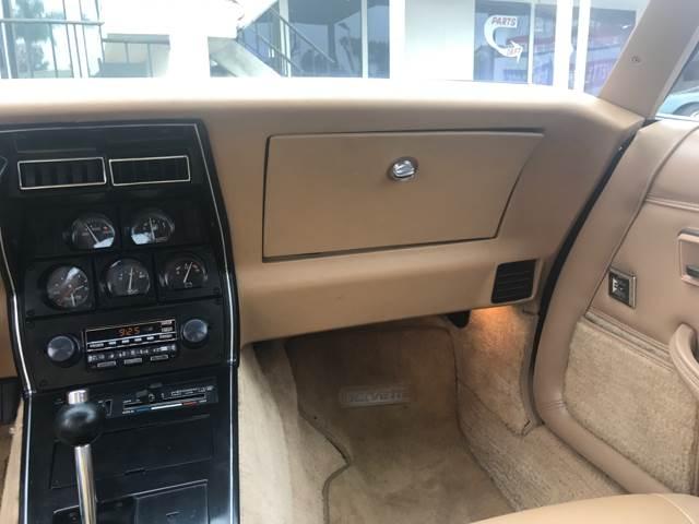 1982 Chevrolet Corvette 2dr Coupe - San Diego CA