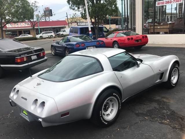 1978 Chevrolet Corvette Rare L82 4 Speed 25th anniversary coupe - San Diego CA
