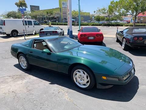 Used Cars San Diego Used Corvettes For Sale Chula Vista CA