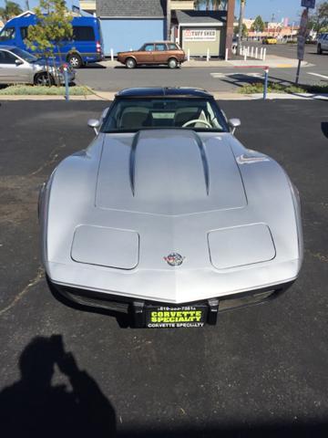 1978 Chevrolet Corvette Silver Anniversary  - San Diego CA