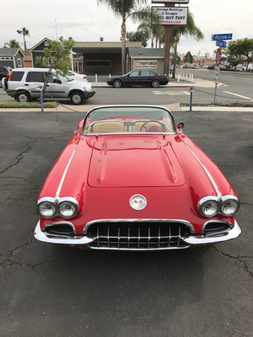 1959 Chevrolet Corvette Restomod  - San Diego CA