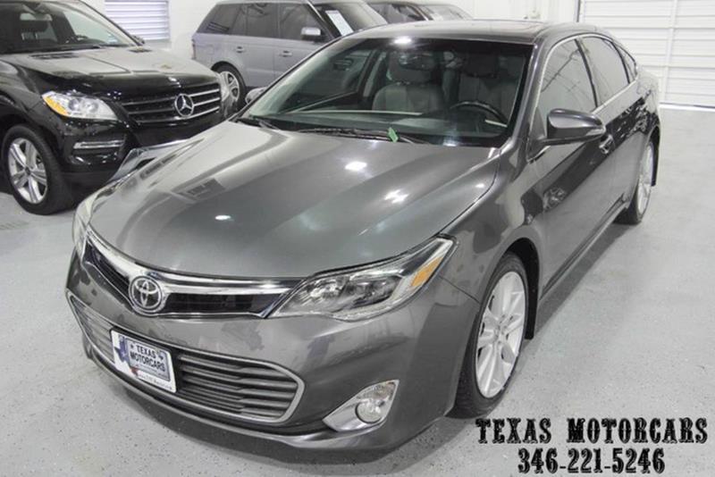 2013 Toyota Avalon for sale at TEXAS MOTORCARS  OF HOUSTON in Houston TX