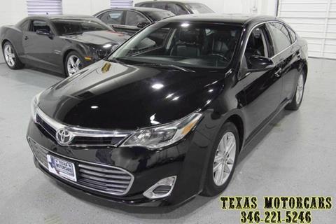 2014 Toyota Avalon for sale at TEXAS MOTORCARS  OF HOUSTON in Houston TX