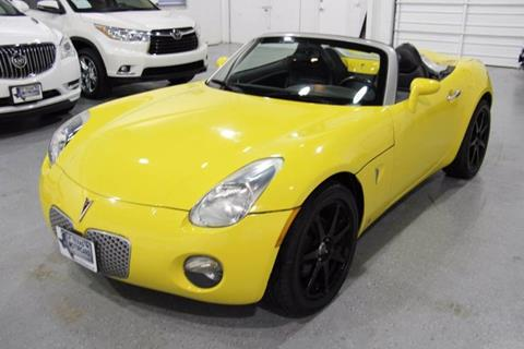 2008 Pontiac Solstice for sale at TEXAS MOTORCARS  OF HOUSTON in Houston TX