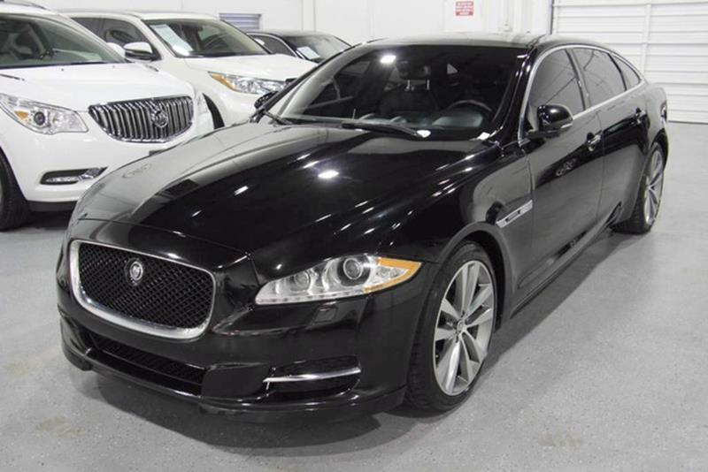 2013 Jaguar XJL for sale at TEXAS MOTORCARS  OF HOUSTON in Houston TX