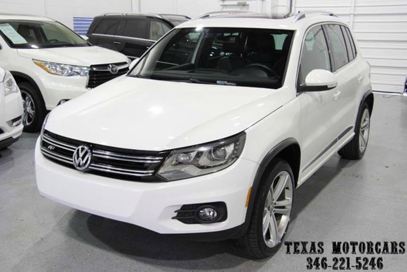 2014 Volkswagen Tiguan for sale at TEXAS MOTORCARS  OF HOUSTON in Houston TX