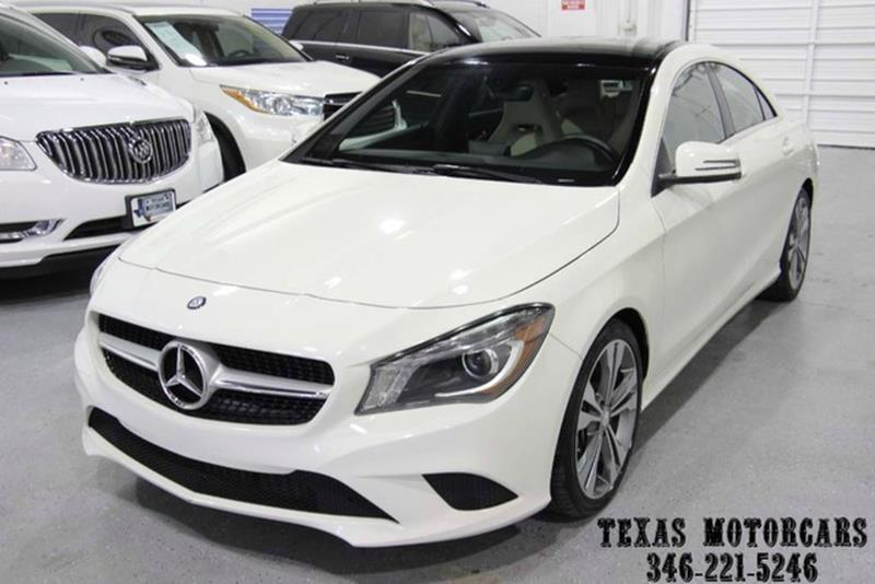2014 Mercedes-Benz CLA for sale at TEXAS MOTORCARS  OF HOUSTON in Houston TX