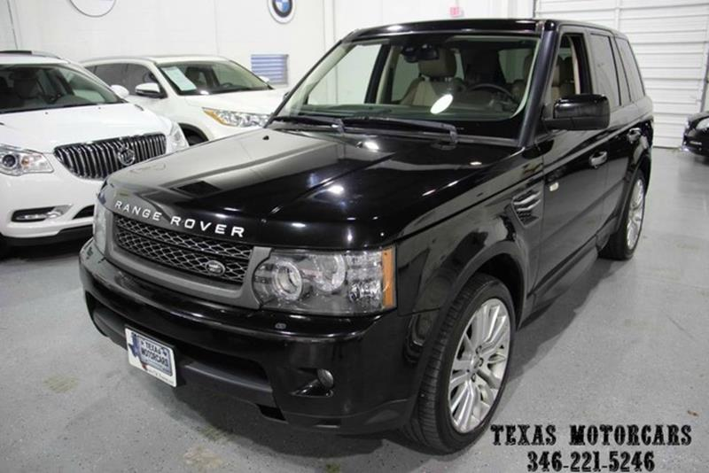 2010 Land Rover Range Rover Sport for sale at TEXAS MOTORCARS  OF HOUSTON in Houston TX
