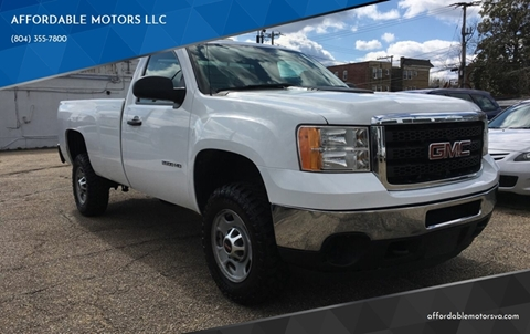 2011 GMC Sierra 2500HD for sale in Richmond, VA