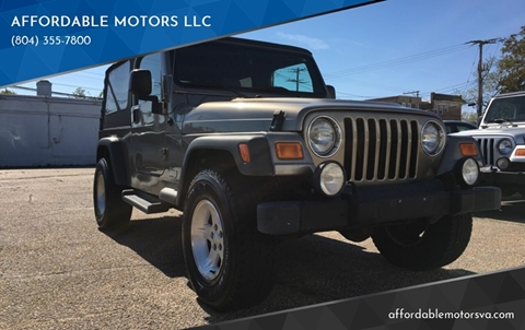 2005 Jeep Wrangler for sale in Richmond, VA