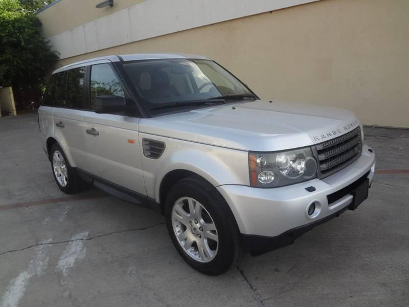 2006 land rover range rover sport hse 4dr suv 4wd in san. Black Bedroom Furniture Sets. Home Design Ideas