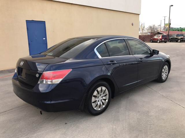 2010 Honda Accord LX 4dr Sedan 5A - San Antonio TX