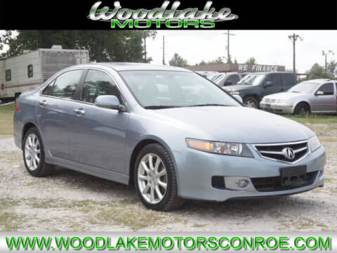 2008 Acura TSX for sale at WOODLAKE MOTORS in Conroe TX