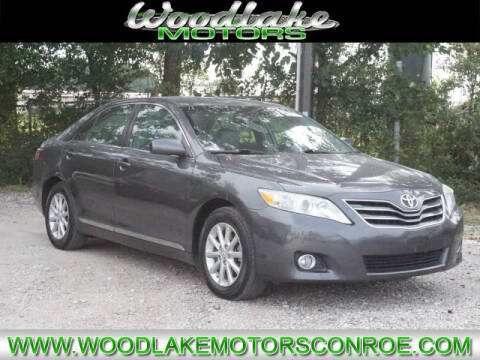 2011 Toyota Camry for sale at WOODLAKE MOTORS in Conroe TX