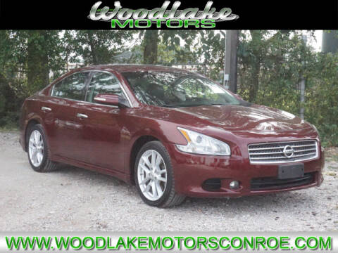 2010 Nissan Maxima for sale at WOODLAKE MOTORS in Conroe TX