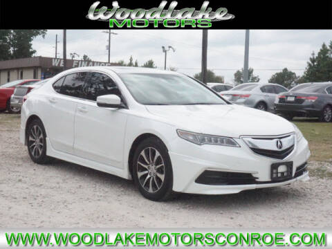 2015 Acura TLX for sale at WOODLAKE MOTORS in Conroe TX