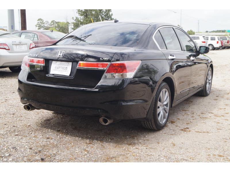 2011 Honda Accord EX-L V-6 Sedan AT with Navigation - Conroe TX