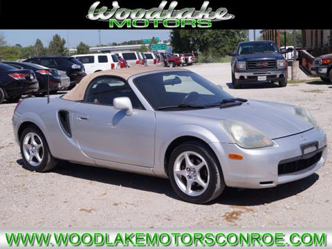 2002 Toyota MR2 Spyder for sale in Conroe, TX