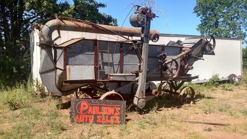 1931 Thrash Machine for sale at Paulson Auto Sales in Chippewa Falls WI