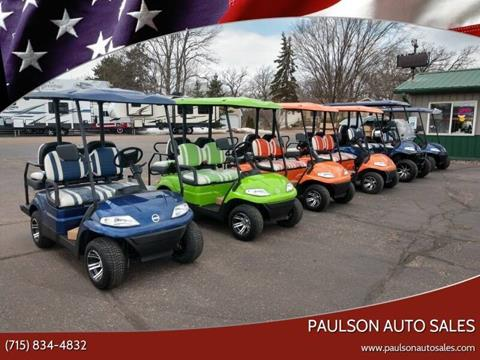 2020 advanced EV 627 2+2 for sale at Paulson Auto Sales in Chippewa Falls WI