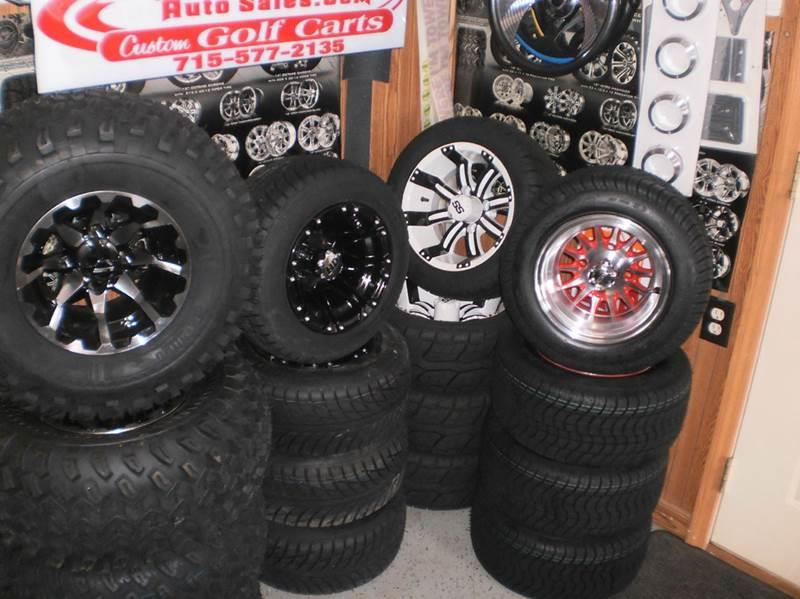 2020 Club Car seats wheels  tires more for sale at Paulson Auto Sales in Chippewa Falls WI